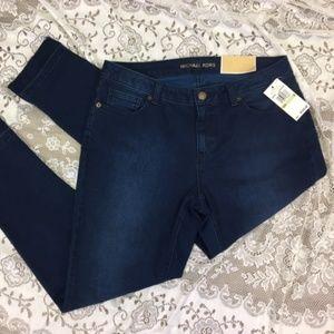 Michael Kors Izzy Skinny Raw Hem Jeans Size 10